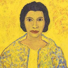 <p>American Art Gallery, Level 2</p> <p>How do artists capture something that cannot be seen? In this portrait of famous singer Marian Anderson, Beauford Delaney was interested in portraying not only her likeness, but her beautiful voice and inner spirit. Do you think he has accomplished that? Explain how or how not.</p>
