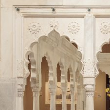 <p>Leave the Art Deco Galleries, cross the bridge, and go into the South Asian Galleries. This huge marble pavilion is bursting with organic and geometric shapes and was used for both work and play. What would you use it for?</p>