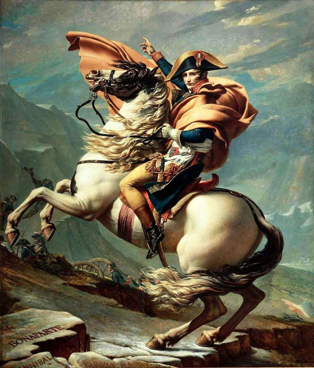 Napoleon's Rise & Fall: Illustrated Timeline (Exhibition Version)